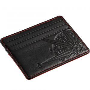1b47630d90 Porta carte di credito porta banconote da uomo Zancan rosso HPL 032
