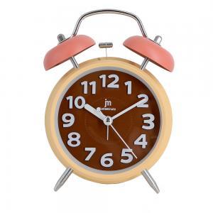Sveglia al quarzo campana silenziosa arancio - gallery