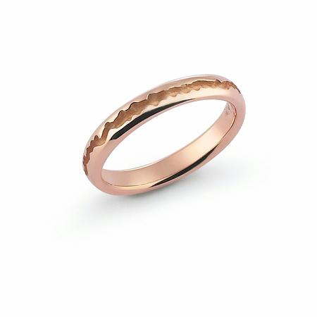Fede Nuziale Orsini oro 9KT rosa FE370SD