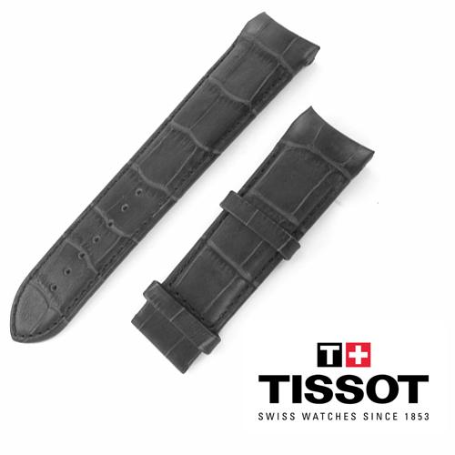 Cinturino di ricambio per Tissot Couturier Nero ansa 24 mm