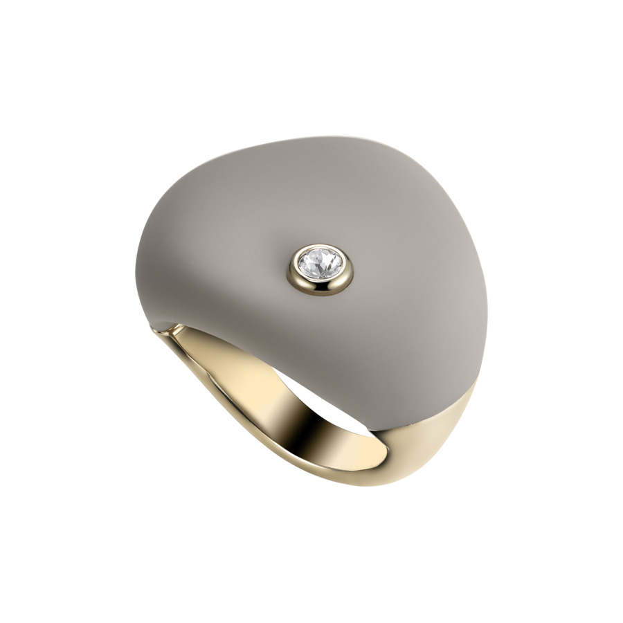Anello con Soft Touch BREIL TJ1621 SENSE OF TOUCH mis. 12