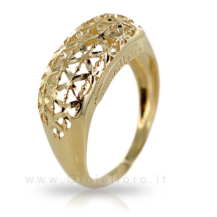 Anello in oro collezione Le Scintille Lorenzo Ungari