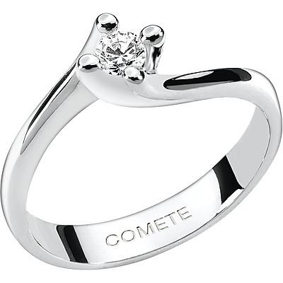 Anello solitario Comete Gioielli Lovelight con diamante ct. 0.15