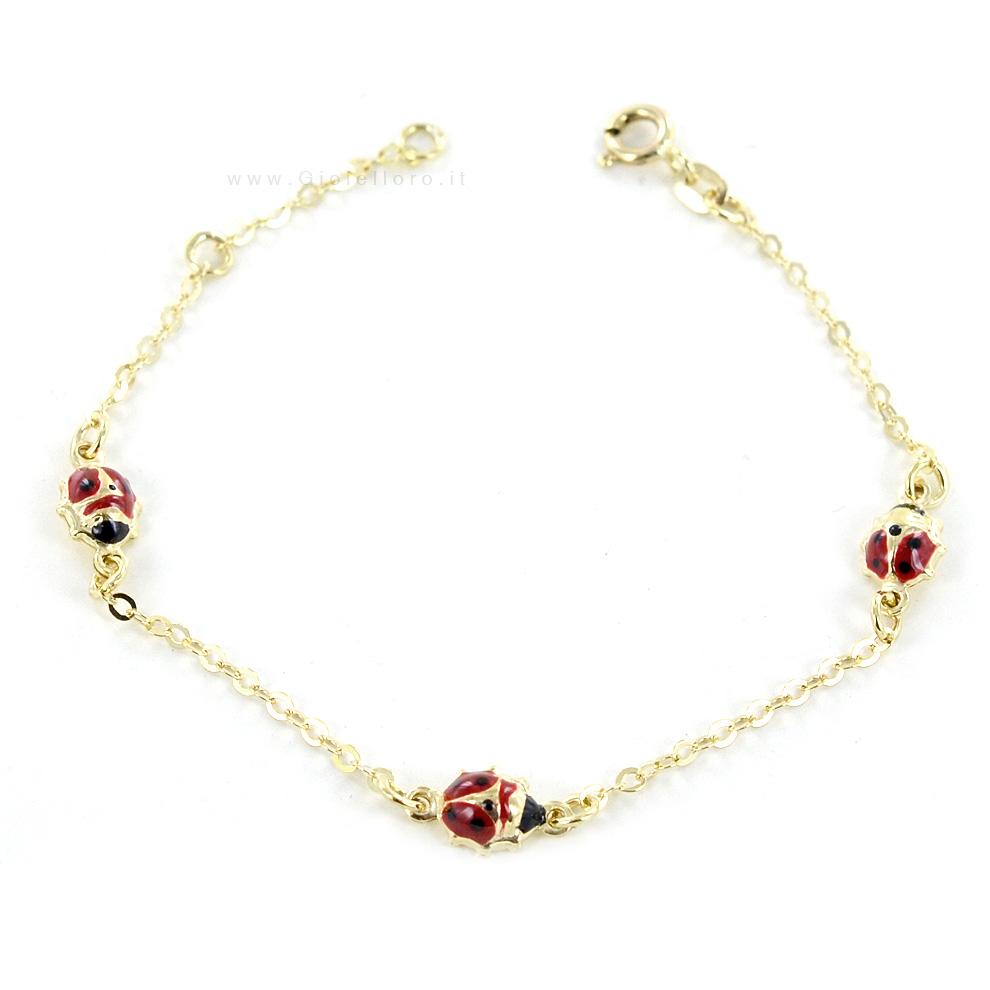 braccialetti oro bimba