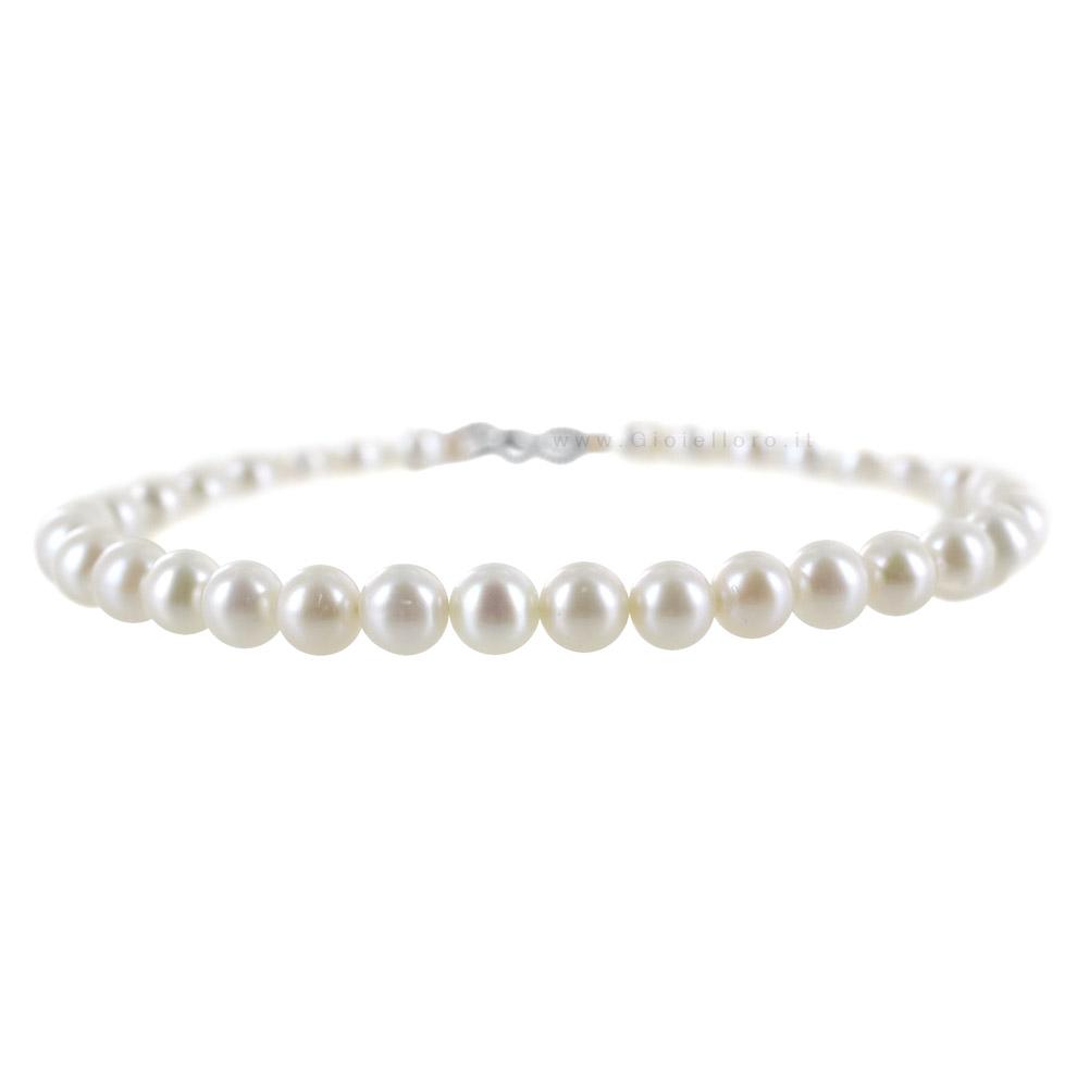 bracciale di perle costo