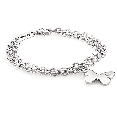 Bracciale Nomination Butterfly in acciaio 021317/016