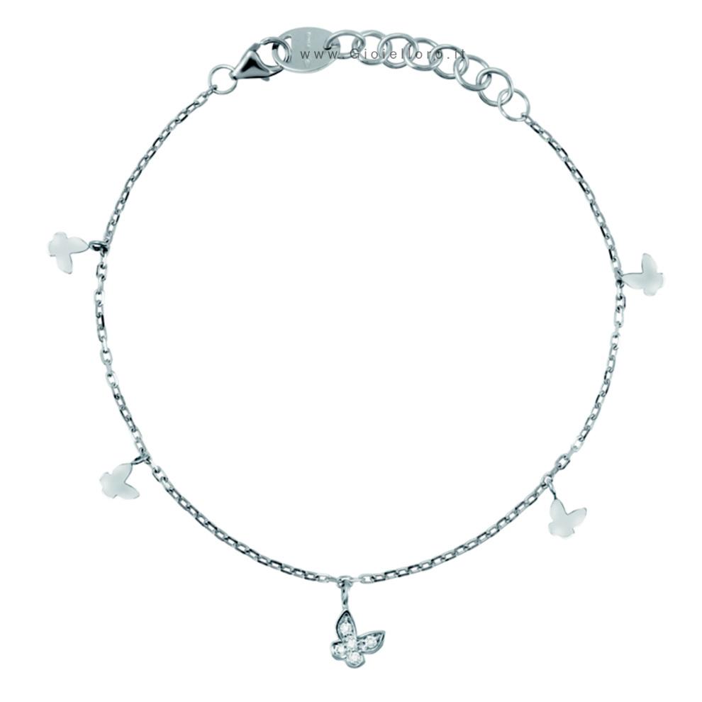 Bracciale Salvini con diamanti collezione Be Happy modello Farfalla 20055770