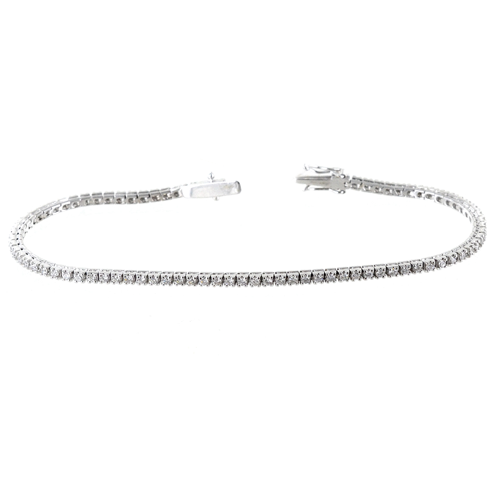 Bracciale Tennis in oro e Diamanti ct 1.30 G