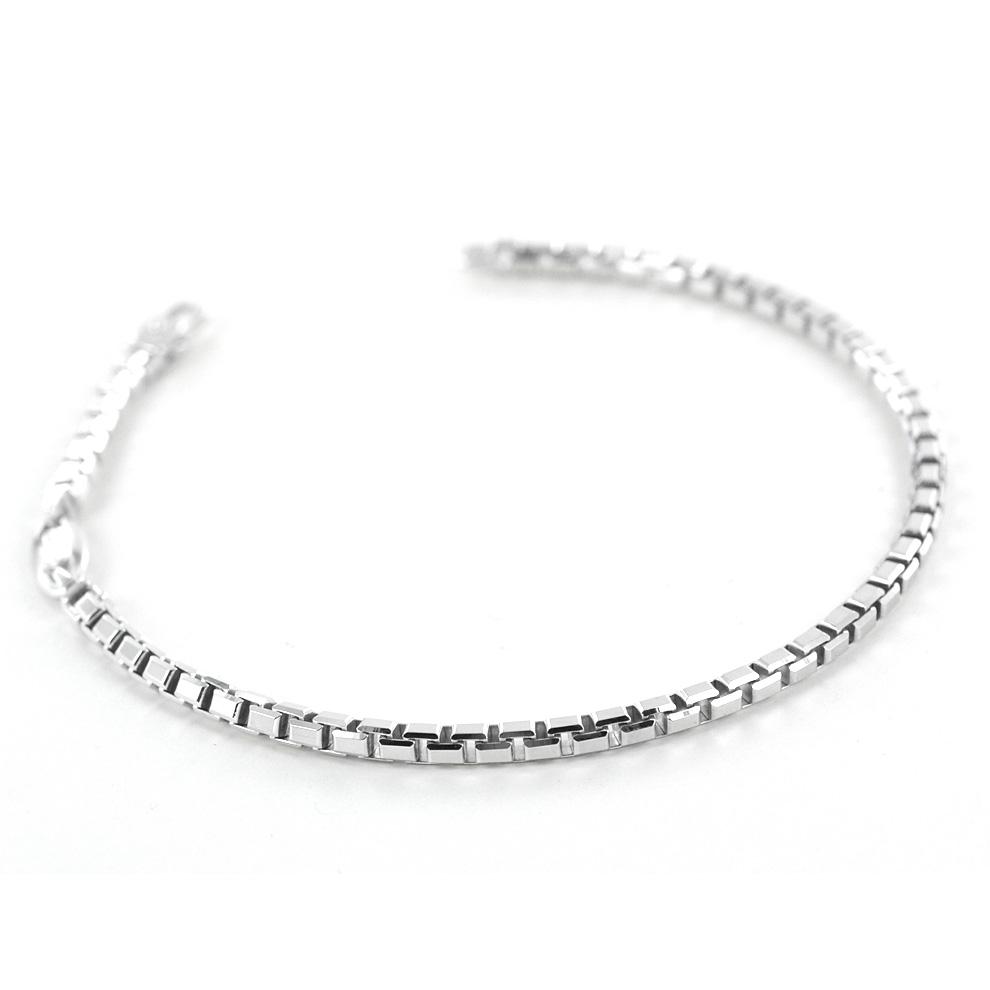 Bracciale Zancan da uomo in argento lucido EXB754-L