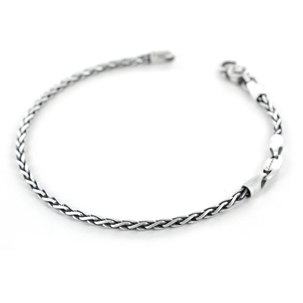 Bracciale Zancan da uomo in argento satinato EXB755-V