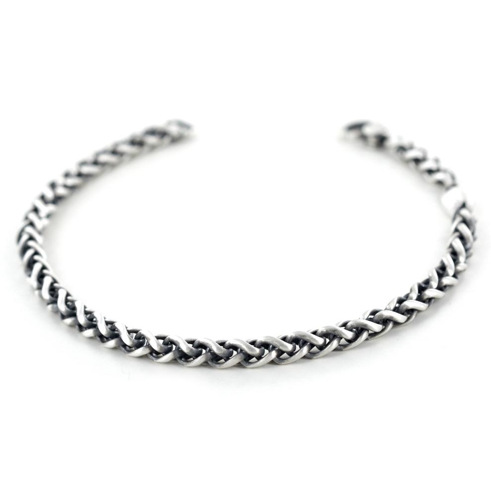 Bracciale Zancan da uomo in argento satinato EXB756-V