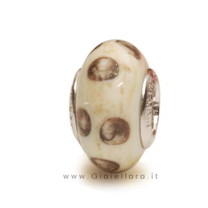 Charm componibile PerlAmore Murano Beads in argento e vetro BAZAR