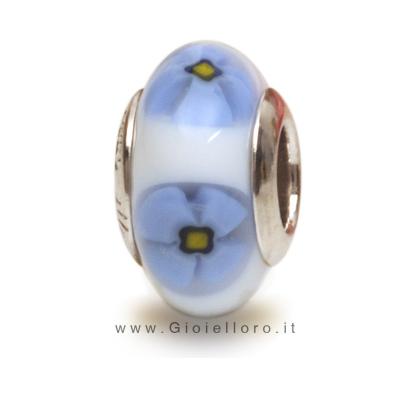 Charm componibile PerlAmore Murano Beads in argento e vetro MOSAICO