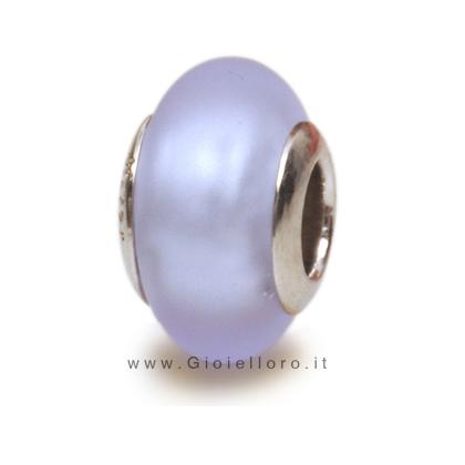 Charm componibile PerlAmore Murano Beads in argento e vetro SI SATIN ALEX