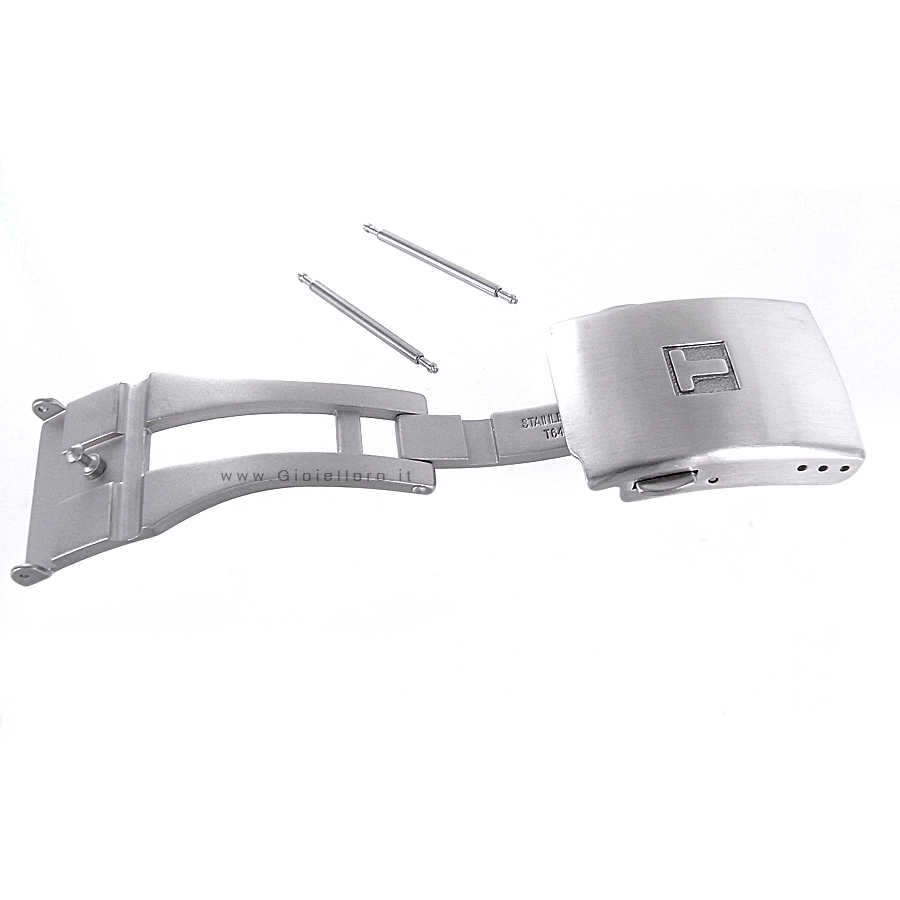 Chiusura Deployante in Acciaio per Tissot T-Touch T640015934