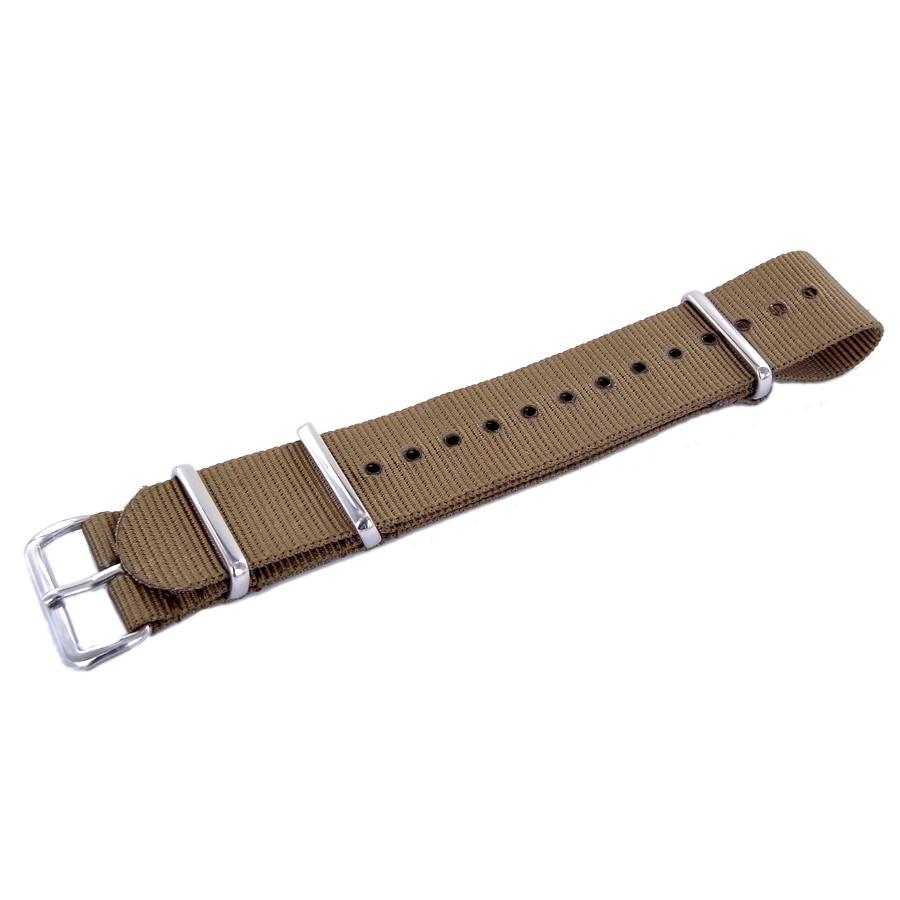 Cinturino NATO STRAPS Brown ansa 18 mm