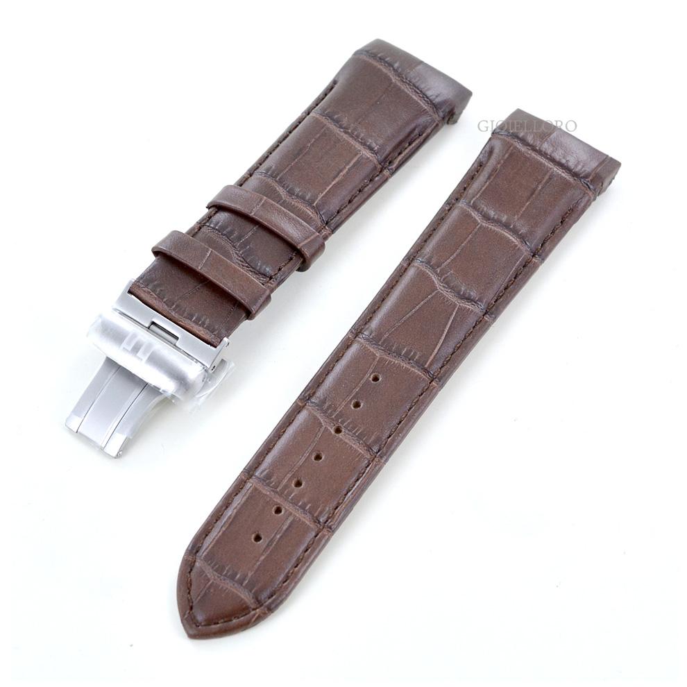 Cinturino di ricambio Tissot Couturier Marrone 23 mm completo di chiusura
