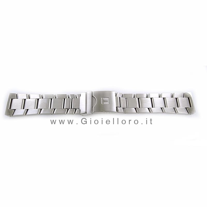 Cinturino per Tissot Racing Touch in acciaio 22 mm