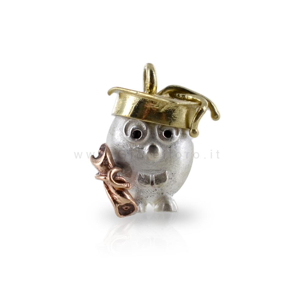 Ciondolo in argento Le Pulci - Pulce LAUREATA