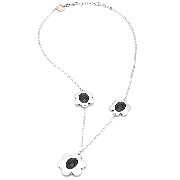 Collana Berenice con onice - Flowers collection