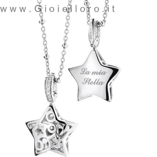 Collana Comete Gioielli in argento collezione Segreto GLA104
