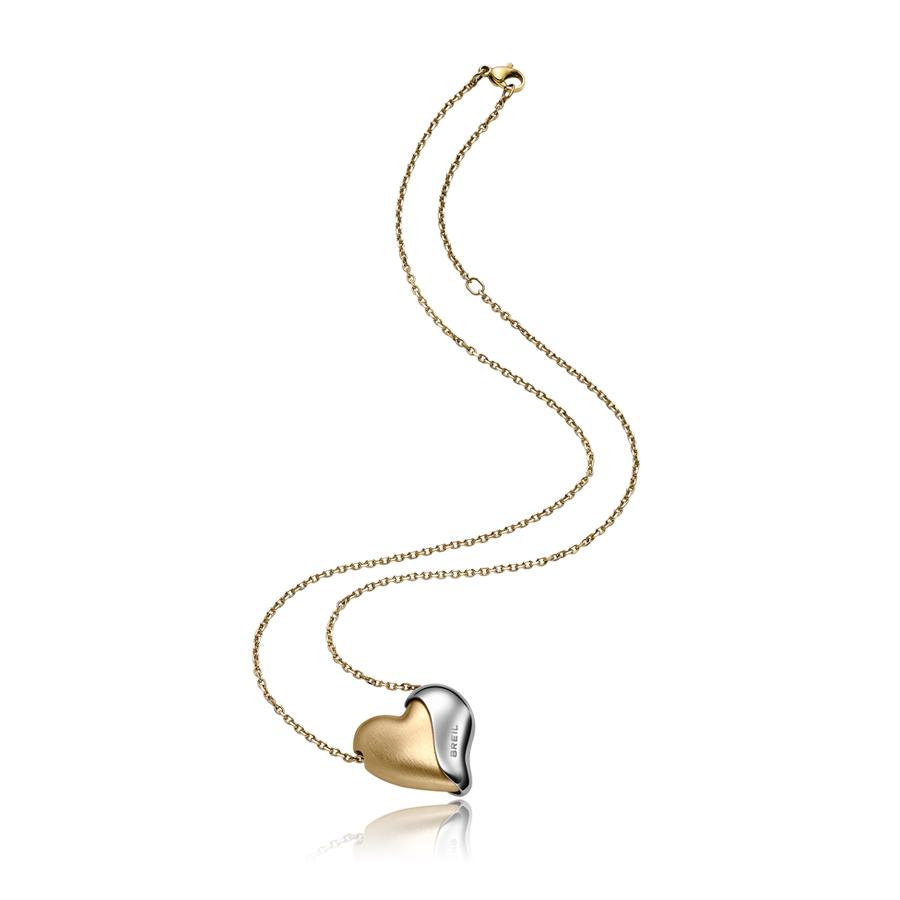 Collana Pendente Piccolo BREIL HEARTBREAKER Champagne TJ1428