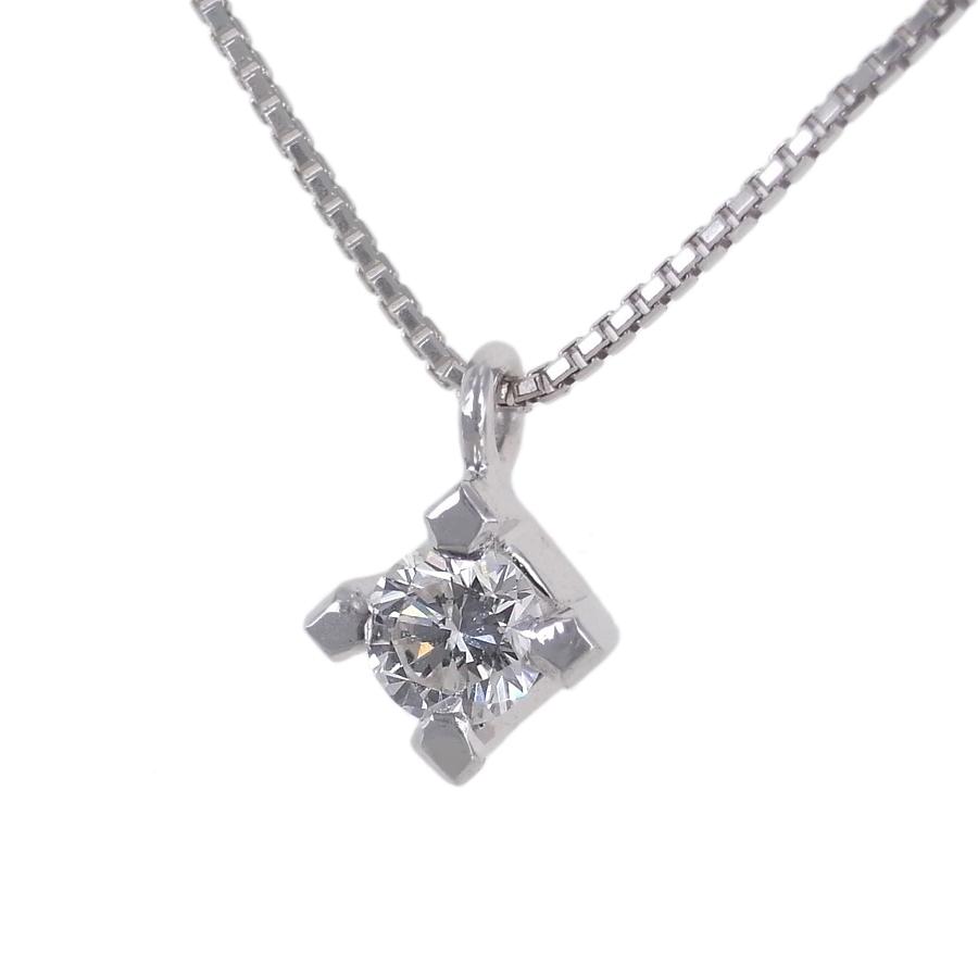 Collana Punto Luce in oro bianco e diamante ct 0.15 G collezione Marilyn