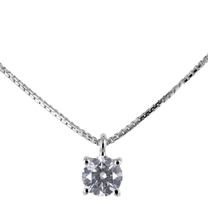 Collana con ciondolo Punto Luce diamante ct. 0.22 G VS Gioielli Valenza