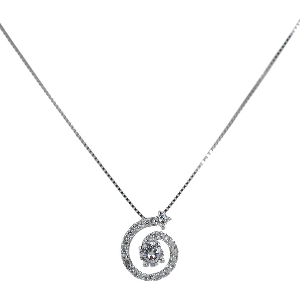 Collana con pendente Salvini spirale di diamanti 20071390