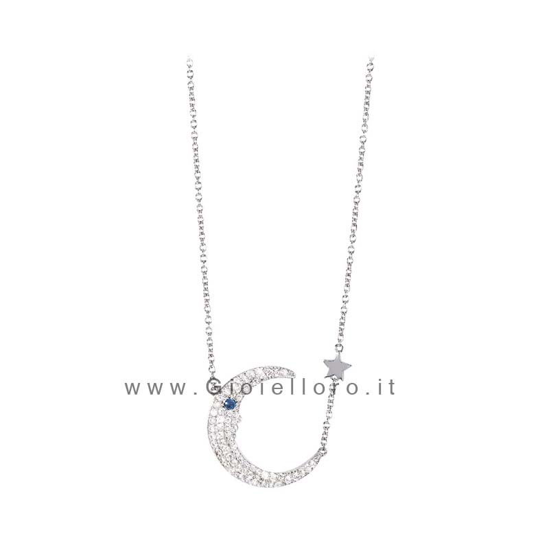 Collana in argento 925 2Jewels Moon 253121