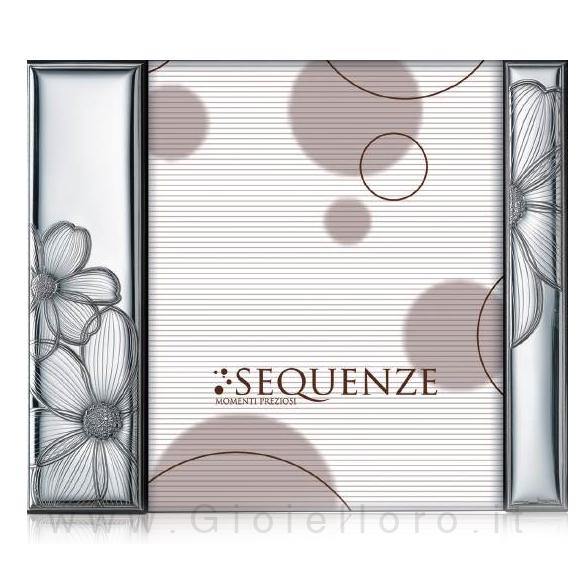 Cornice Portafoto a giorno in argento modello Honey 20X25 cm ...