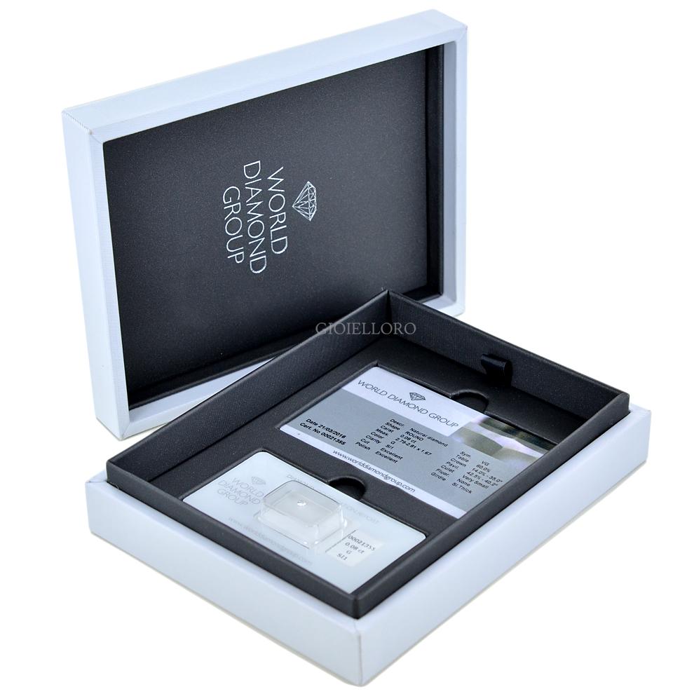 Diamante in blister Dluce carati 0.08 G SI1 Excellent