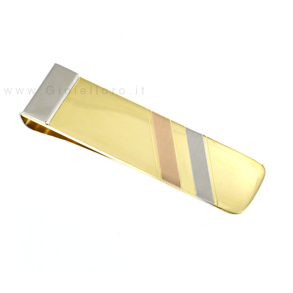 cb7a4ebb66 Fermasoldi in oro tricolore   Gioielloro.it - La tua gioielleria online