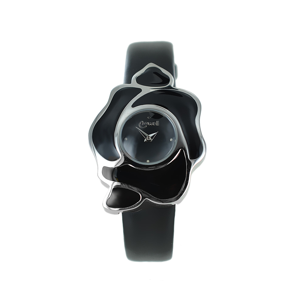 OROLOGIO DONNA LOWELL ROSE BLACK