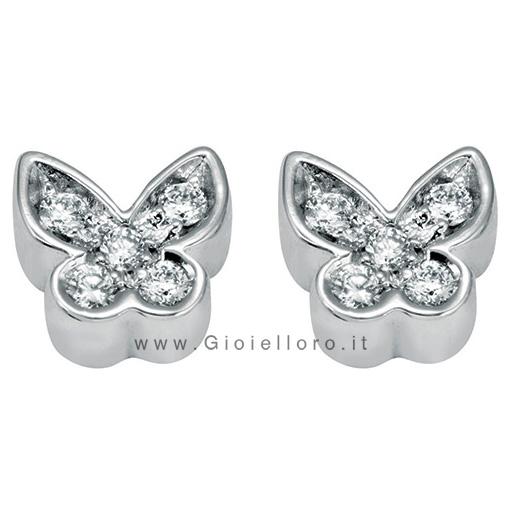 Orecchini Salvini con diamanti collezione Be Happy modello Farfalla 20055762