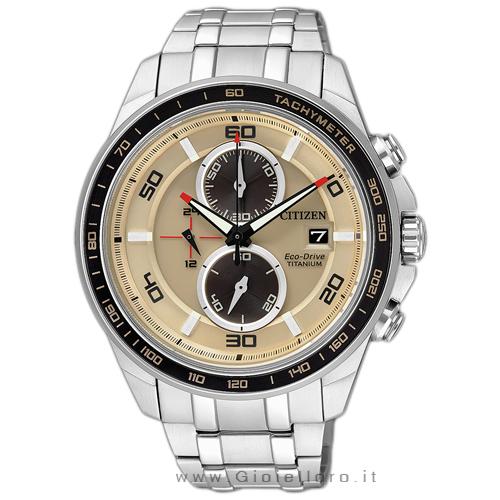 Orologio Citizen Eco Drive Crono Supertitanio CA0348-53W