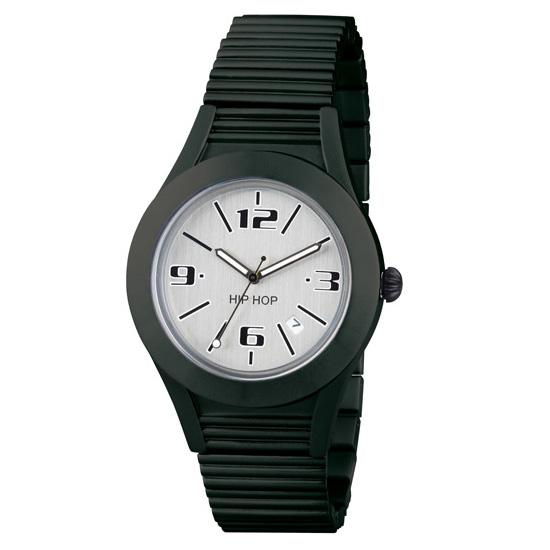 Orologio HIP HOP Aluminium uomo 42 mm nero - BLACK TIE  5053fb419ff