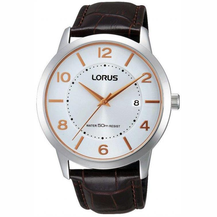 Orologio Lorus uomo CLASSIC Solo Tempo Silver RS955BX9