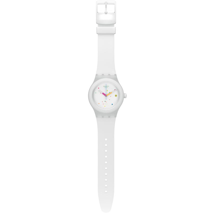 negozio online e1b33 58006 Orologio SWATCH Automatico SISTEM 51 Bianco | Gioielloro.it ...