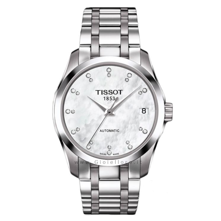 nuovo concetto fb8be 4a66b orologi tissot con diamanti prezzi