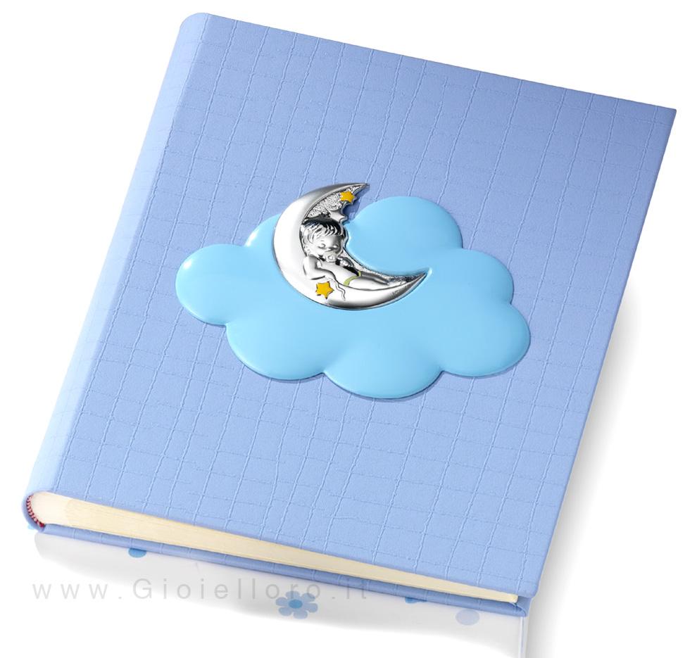 Album portafoto da bambino con Orsetto e Luna 20X25 cm