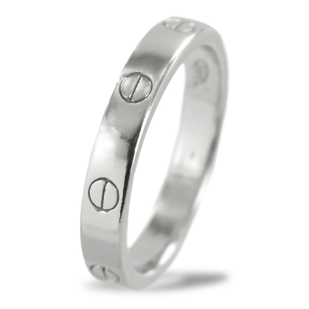 Anello con viti in argento anello uomo donna unisex
