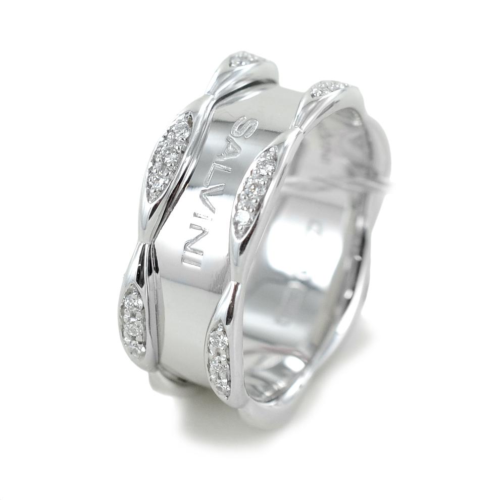 Anello Salvini collezione Sunny con diamanti in oro bianco