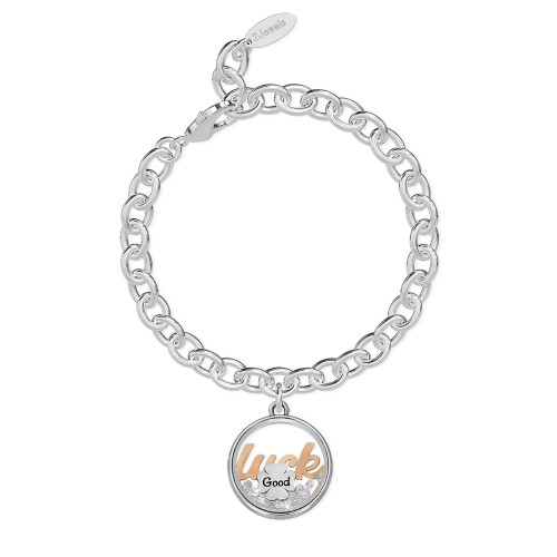 Bracciale 2Jewels donna Daylight in acciaio con pendente Luck 232013
