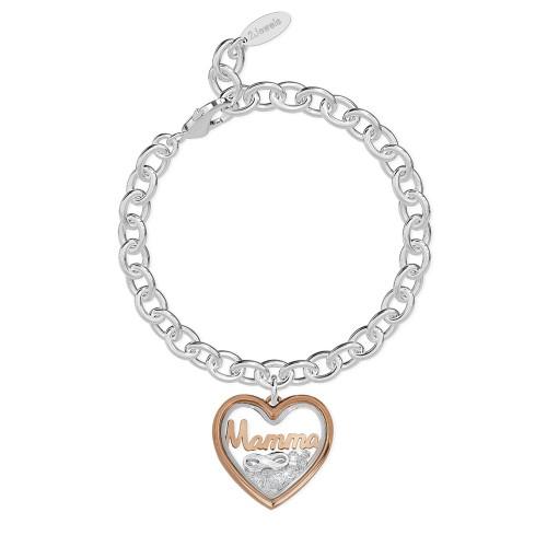 Bracciale 2Jewels donna Daylight in acciaio con pendente Mamma 232015