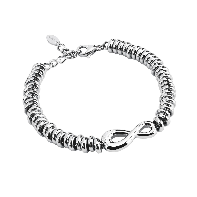 bracciale 2Jewels Donna ENDLESS acciaio e cristallo 231334