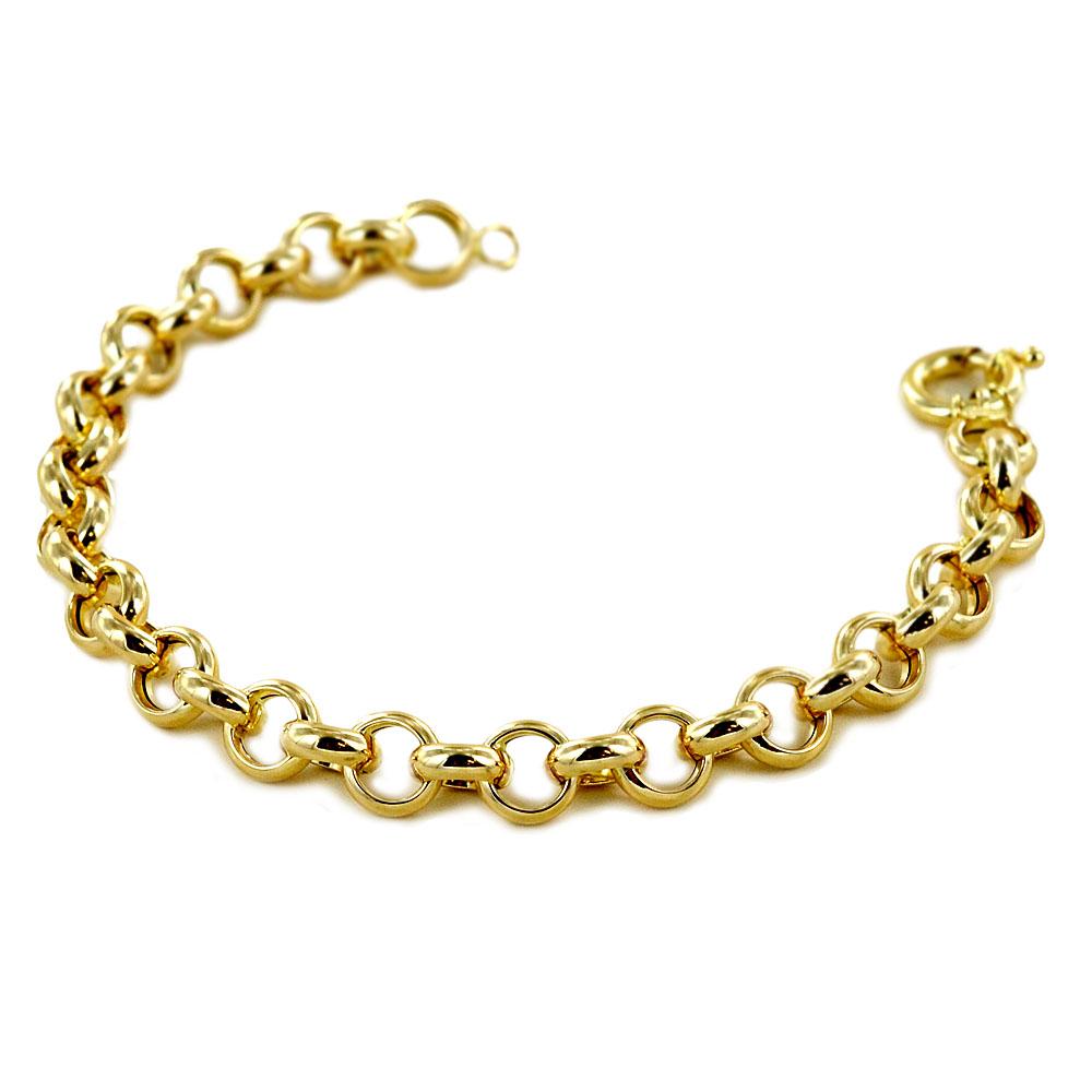 Bracciale Donna a catena in oro giallo