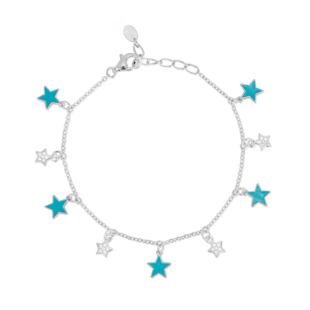 Bracciale Donna Mabina in Argento con stelle e zirconi 533358