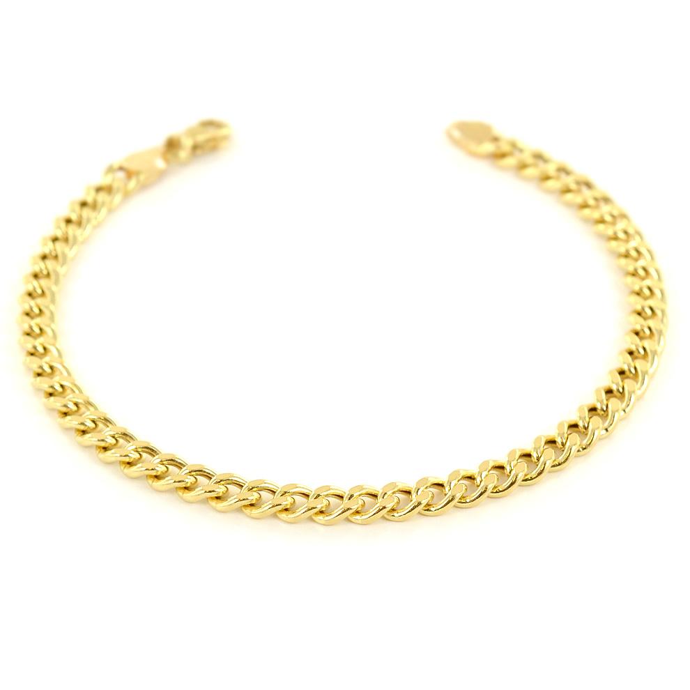 Bracciale in oro da uomo Groumette 21.00 cm manifattura aretina