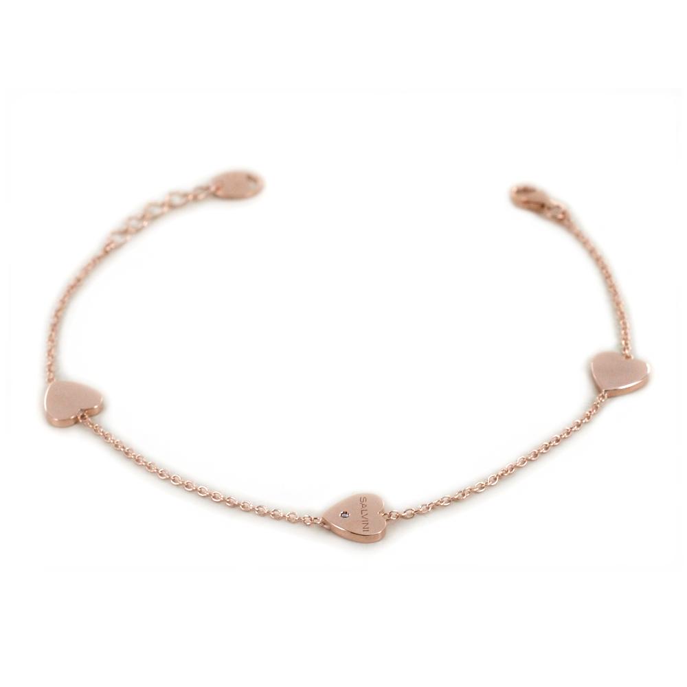 Bracciale Salvini MINIMAL cuore oro rosa 20087178